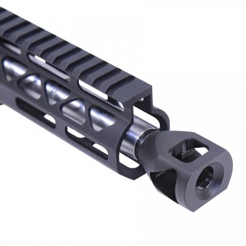 guntecusa microtank compact muzzle device. smallest shortest muzzle brake flash hider for the ar15  3.jpg
