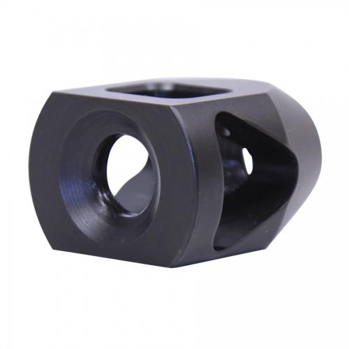 guntecusa microtank compact muzzle device. smallest shortest muzzle brake flash hider for the ar15 4