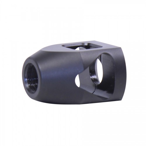 guntecusa microtank compact muzzle device. smallest shortest muzzle brake flash hider for the ar15 5