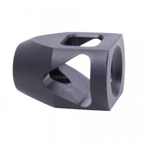 guntecusa microtank compact muzzle device. smallest shortest muzzle brake flash hider for the ar15