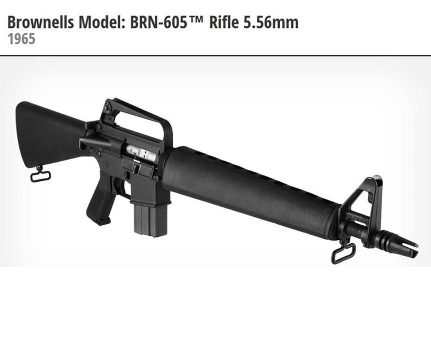 Brownells brn-605 clone colt model 605 replica rifle vietnamv a.jpg