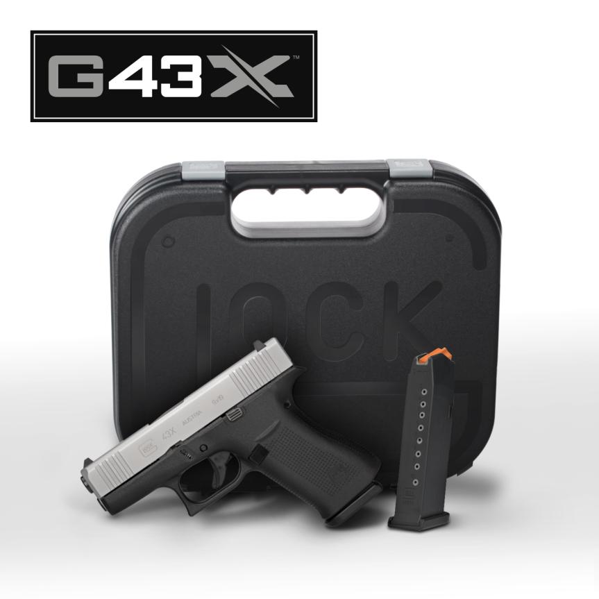 Glock G43x subcompact 9mm  glock 48 compact 9mm  sliver slimline glock  2.png