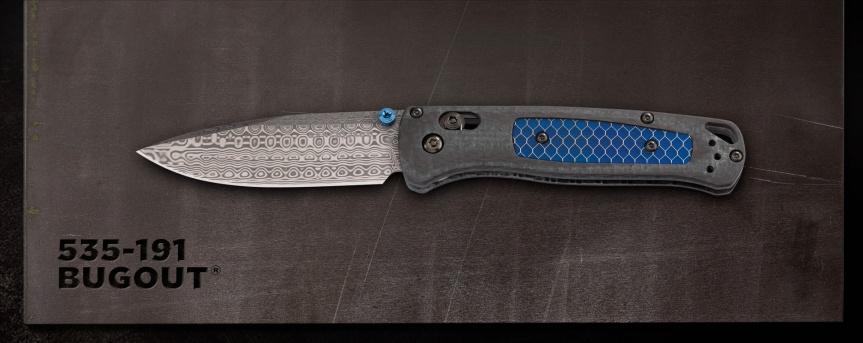 benchmade knives 535-191 bugout knife dama steel pocket knife flipper knife 3