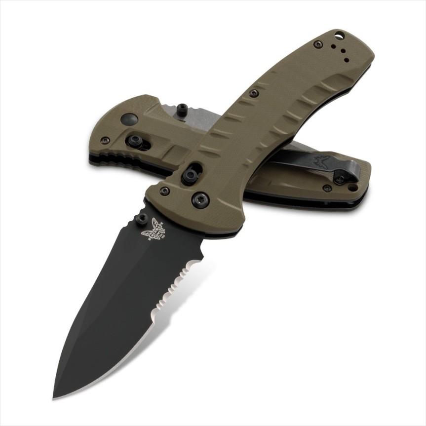benchmade knives 980 turret pocket knife folder tactical folder edc  1.jpg