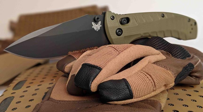 benchmade knives 980 turret pocket knife folder tactical folder edc  4.jpg