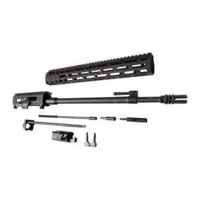 brownells brn-180 upper receiver for the ar15 piston no buffer tube folding stock ar15