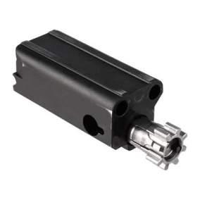 brownells brn-180 upper receiver for the ar15 piston no buffer tube folding stock ar15