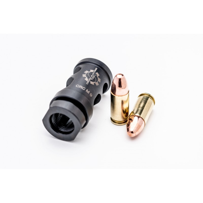 cross machine tool releases the crc-m-9mm muzzle brake! 2