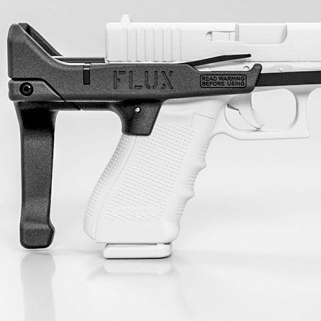 flux defense flux brace glock pistol usw flux brace for the sig 320 1