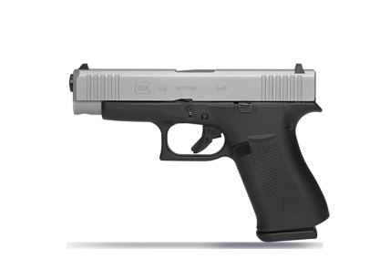 glock 48 compact 9mm new from glock slim 9mm concealed carry pistol silver slim line glock