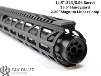 kaw valley precision magnum linear compensators 450 bushmaster muzzle brake