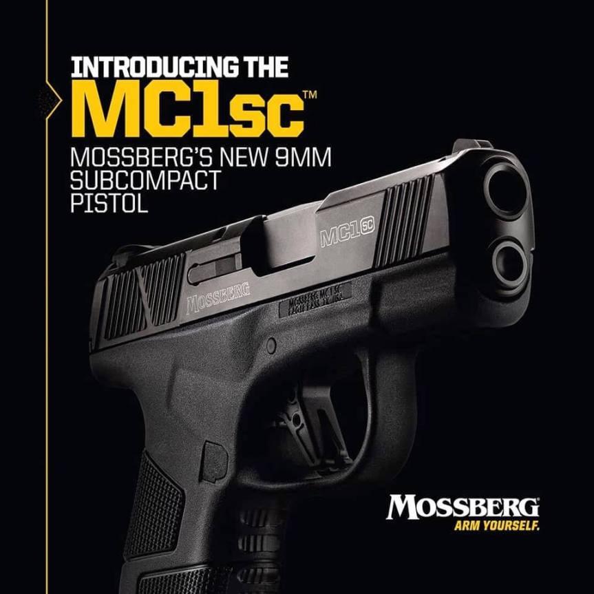 mossberg new subcompact pistol the mc1sc striker fired pistol mc1sc conealed handgun 1.jpg