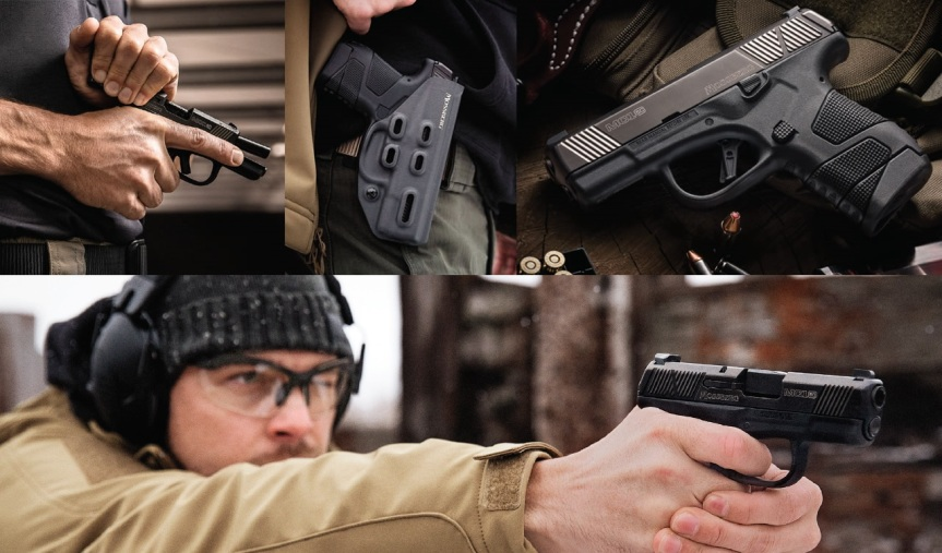 mossberg new subcompact pistol the mc1sc striker fired pistol mc1sc conealed handgun 2