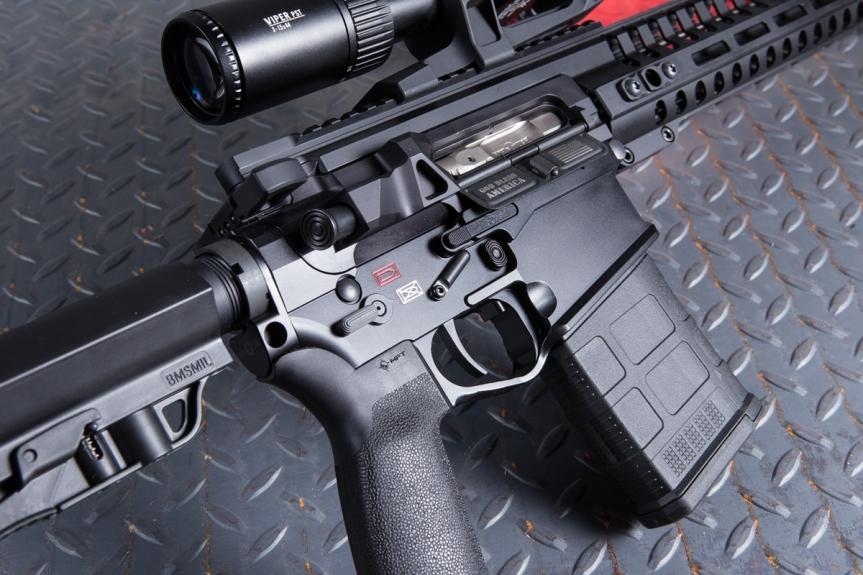 patriot ordnance factory pof-usa revolution rifle lightest 6.5 creedmoor semi automatic lightest ar10 308 3