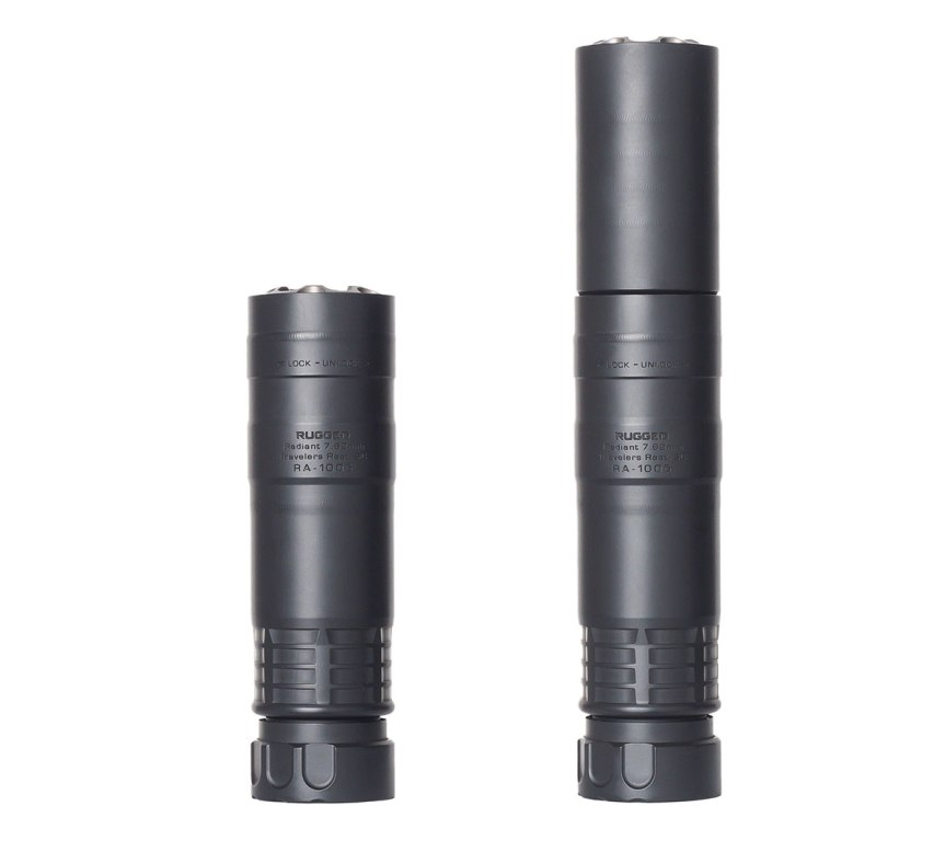 rugged suppressors radiant762 rifle suppressor light weight rifle can for hunting 4.jpg