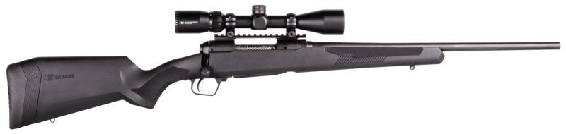 savage arms 110 apex hunter xp rifle with vortex optics crossfire ii 3-9x40 2