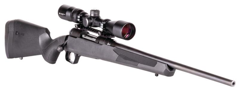 savage arms 110 apex hunter xp rifle with vortex optics crossfire ii 3-9x40 3