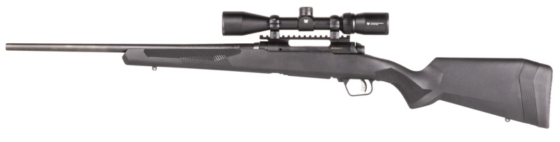 savage arms 110 apex hunter xp rifle with vortex optics crossfire ii 3-9x40 4