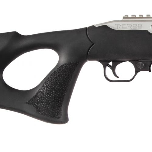 smith and wesson performance center tcr22 custom ruger 1022 hogue overmolded thumbhole stock 22lr