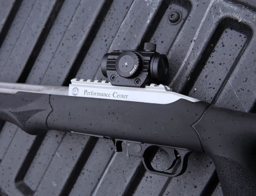 smith and wesson performance center tcr22 custom ruger 1022 hogue overmolded thumbhole stock 22lr a.jpg