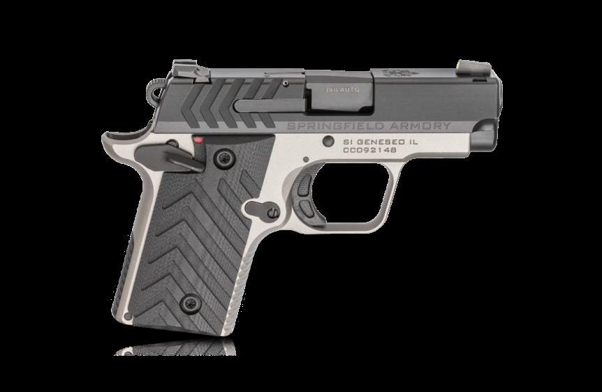 springfield armory 911 380 pistol mini 1911 new color combination tiffany blue pistol 3.png