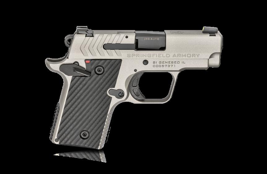 springfield armory 911 380 pistol mini 1911 new color combination tiffany blue pistol 4.png