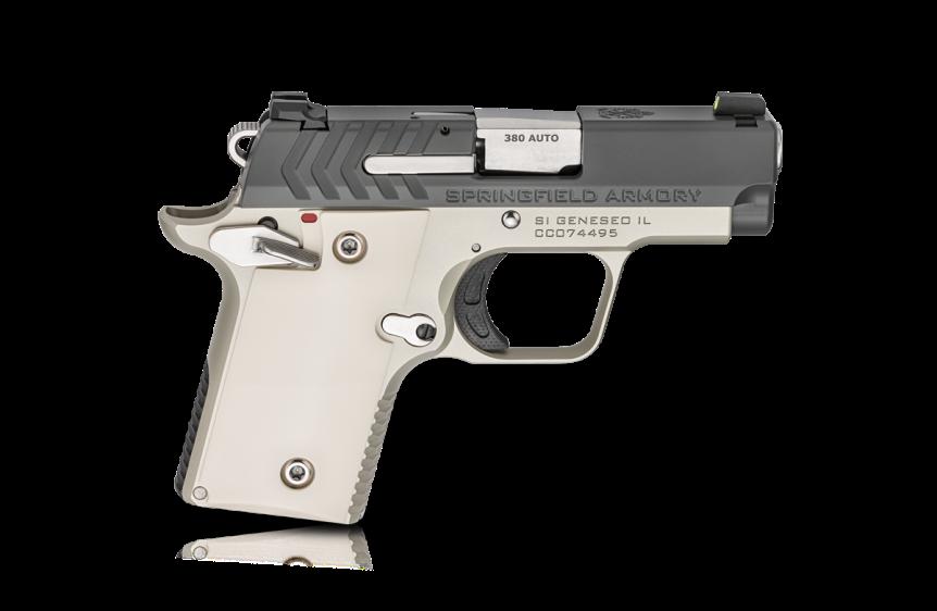 springfield armory 911 380 pistol mini 1911 new color combination tiffany blue pistol 5.png