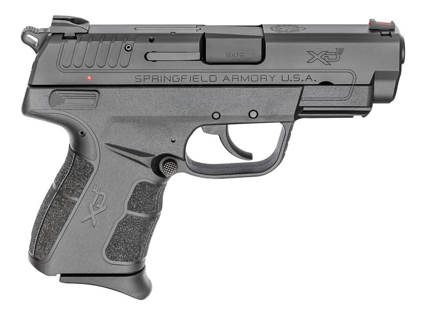 springfield armory XD-e pistol hammer fired single stack springfield grip angle grip zone  1.jpg