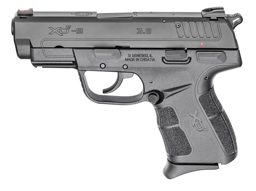 springfield armory XD-e pistol hammer fired single stack springfield grip angle grip zone  3.jpg
