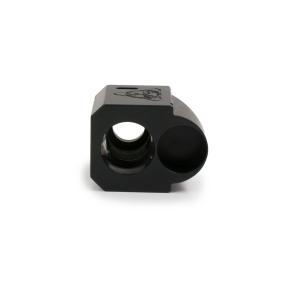 suarez international suarez street comp 9mm pistol comp muzzle brake for your glock in my boot