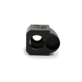 suarez international suarez street comp 9mm pistol comp muzzle brake for your glock in my boot