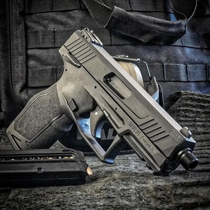 taurus usa striker fired 22lr tx22 pistol new taurus pistol in 22 striker fired  5.jpg