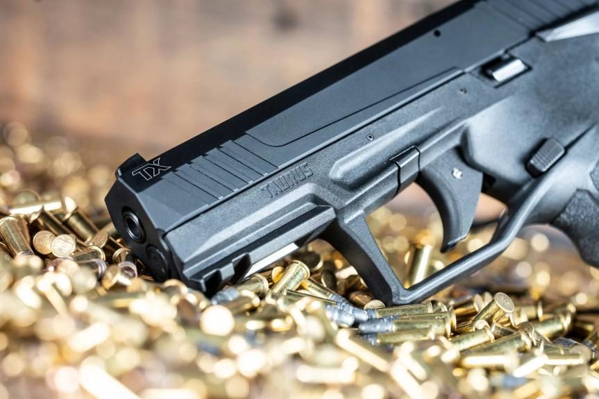taurus usa striker fired 22lr tx22 pistol new taurus pistol in 22 striker fired 7