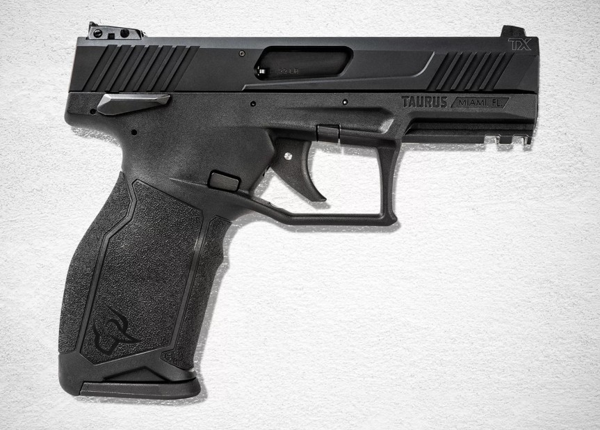 taurus usa striker fired 22lr tx22 pistol new taurus pistol in 22 striker fired 8