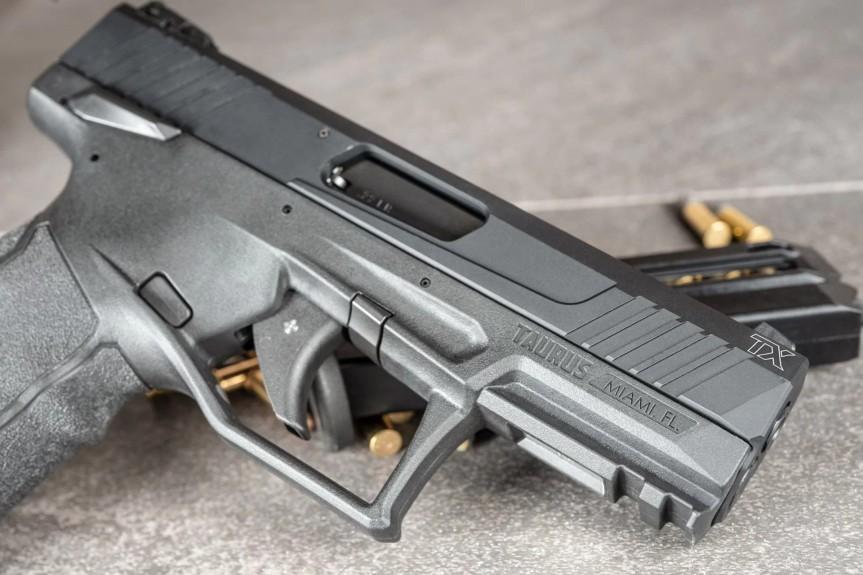 taurus usa striker fired 22lr tx22 pistol new taurus pistol in 22 striker fired w3