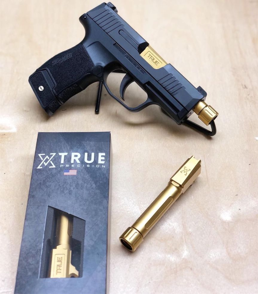 true precision sig p365 threaded barrel suppressed p365 aftermarket stainless barrel for the p365  3.jpg