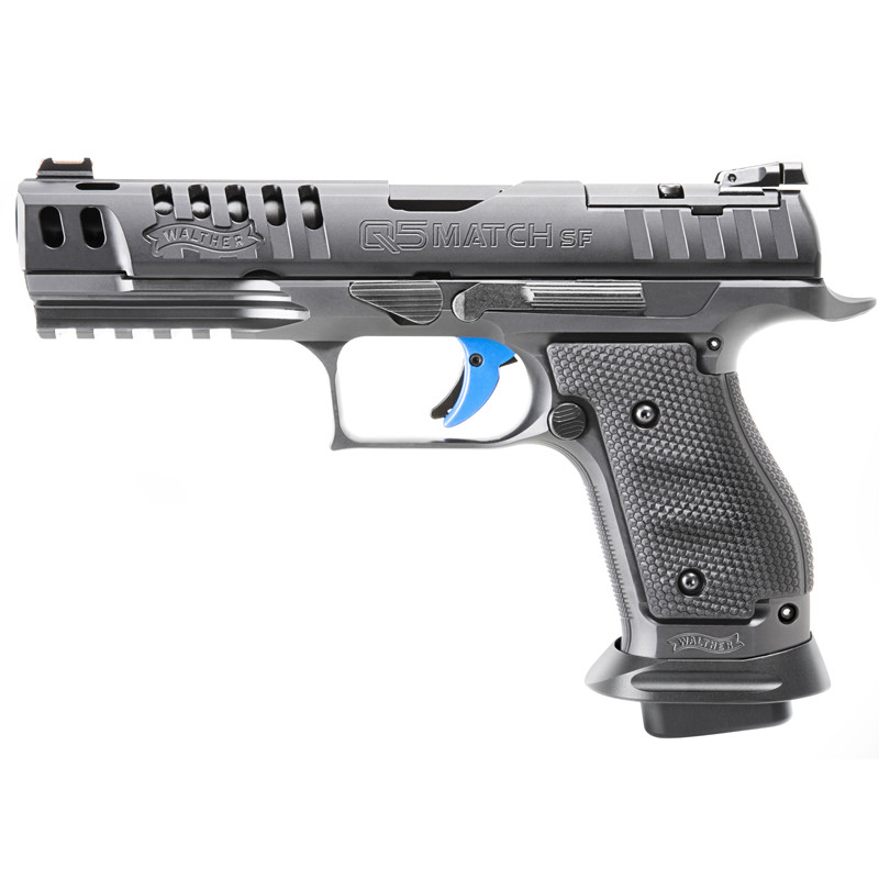 walther arms q5 match steel pistol ppq target competition gun 2830001 2830418 2