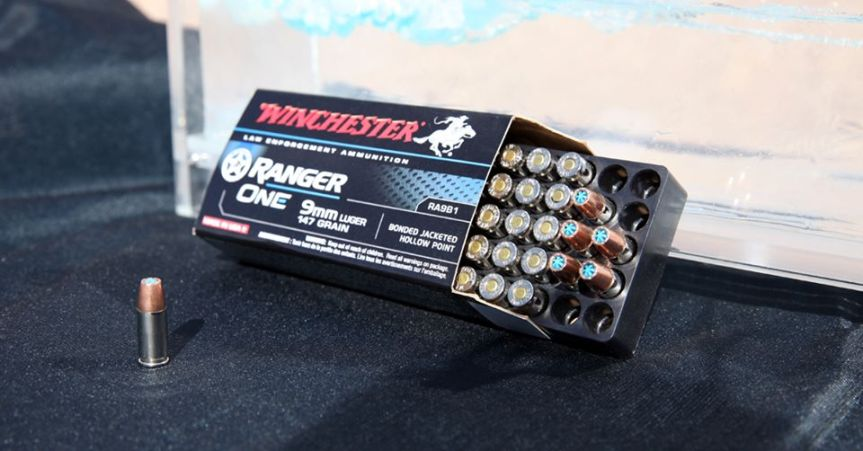 winchester ranger one ammunition 9mm 147gr 1