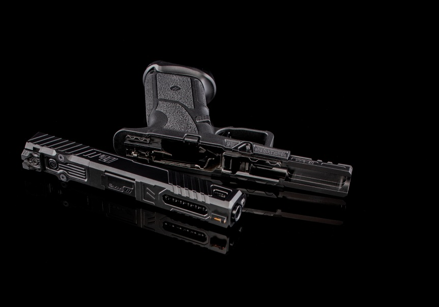zev technologies o.z-9 pistol custom zev pistol glock modular gun glock grip frame system 2