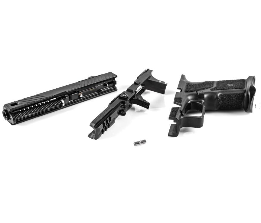 zev technologies o.z-9 pistol custom zev pistol glock modular gun glock grip frame system 5