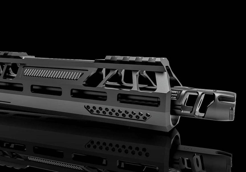 aeroknox ax15 hanguard ar15 handguard full billet handguard for the ar-15 platform 1