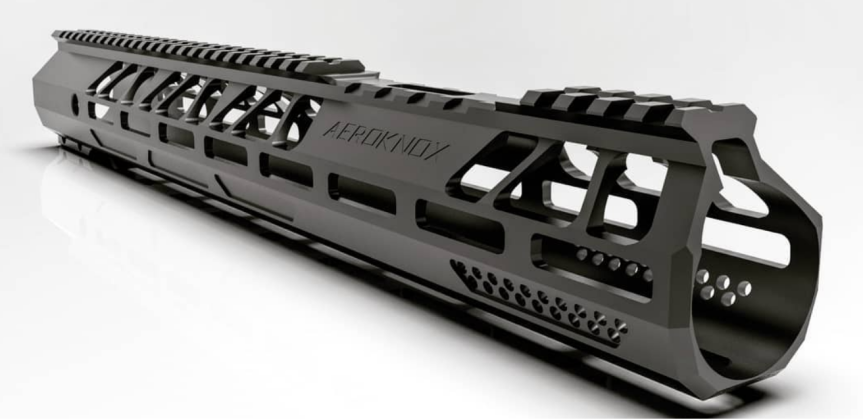 aeroknox ax15 hanguard ar15 handguard full billet handguard for the ar-15 platform  2.png