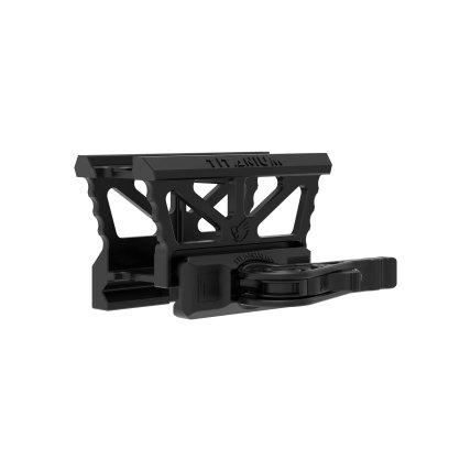 america defense mfg titanium mro mount titanium aimpoint mount for the ar15 platform titanium ar15