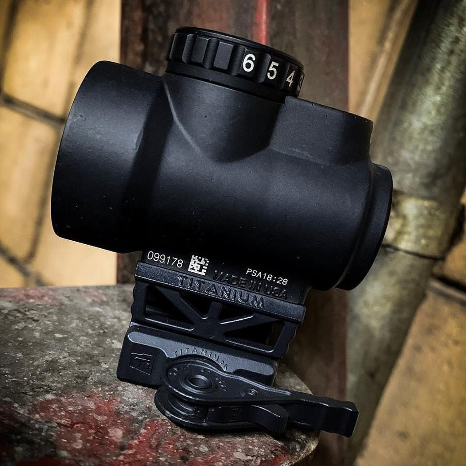 AMERICAN DEFENSE MFG ANNOUNCES NEW TITANIUM AIMPOINT TI AND TRIJICON MRO TITANIUM MOUNTS!!!