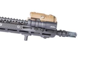 arisaka defense use surefire tailcap and switch with streamlight protact ar15 tactical protac light dbal lazer