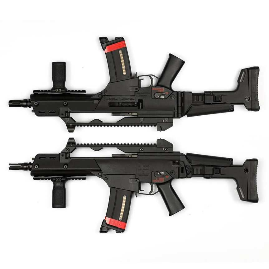Dan haga designs acr stock on hk g36 acr stock adapter bushmaster acr stock on g36 hk not for the poors (3)