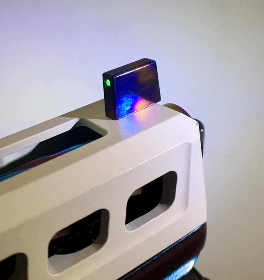 Griffworx glock titanium night sights titanium suppressor sights. 1