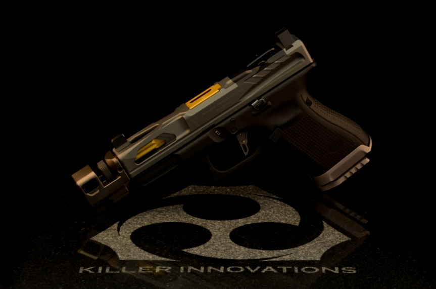 Killer innovations velocity glock slide glock 19 custom glock slide glock19 gen3 custom slide work rmr cut  1.jpg