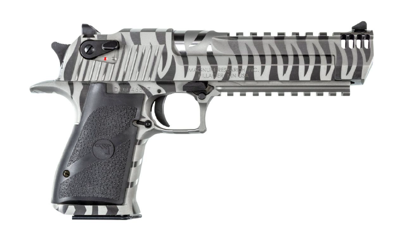 magnum research white tiger desert eagle white stripes pistols de50wts de44wts 1