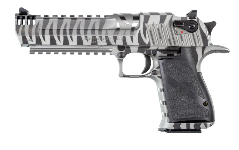 magnum research white tiger desert eagle white stripes pistols de50wts de44wts  2.png
